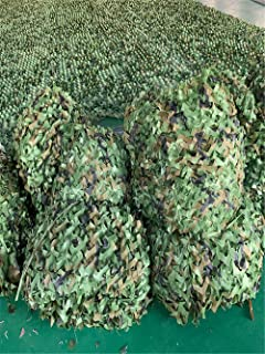 Image of ZJDU Anti-Aerial Photography, Shading, Outdoor Decoration, Army Camouflage Net,Camo Netting,Camouflage Net for Camping Military Hunting Shooting Sunscreen Nets