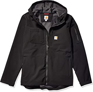 mens Hooded Rough Cut Jacket (Regular and Big & Tall Sizes)