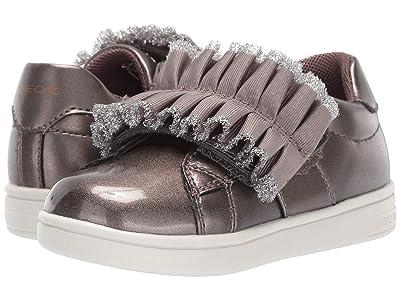 Geox Kids Djrock 32 (Toddler) (Taupe) Girls Shoes
