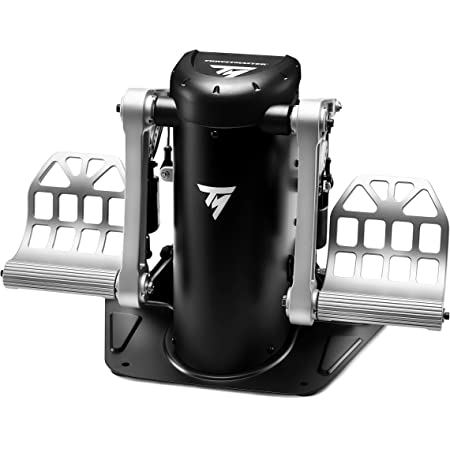 Thrustmaster TPR Rudder 高精度 ラダーペダル フライトシム向け Windows10/8/7対応【国内正規代理店保証品】 2960809