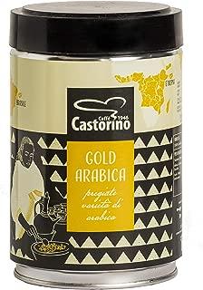 Caffe' Castorino Gold Arabica Ground Italian Coffee