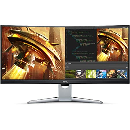 BenQ EX3501R Ultrawide Curved Gaming Monitor | 34 inch class (35 Inch) | 21:9 QHD (3440 X 1440) | 100Hz | HDR | FreeSync