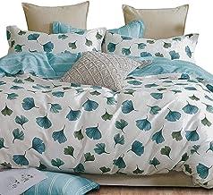 Essina Cotton Queen Quilt Cover Duvet Cover Doona Cover Set 3pc Valencia Collection 620 Thread Count, Pillow Sham, Vintage...
