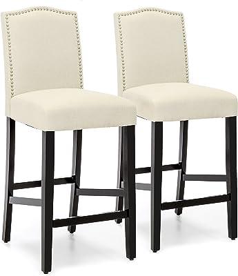 Astounding Amazon Com Christopher Knight Home Chantal Backless Ivory Machost Co Dining Chair Design Ideas Machostcouk