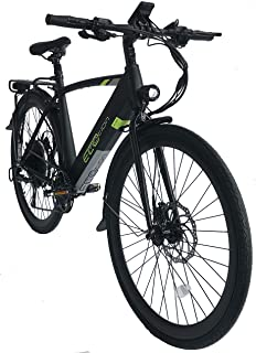 Ecomotion Bikes Tour XS | 700C Electric Bicycle | 500W Motor | 48V 500Wh Samsung Battery | Hydraulic Brakes | 9 Gears | LCD Display with USB Port | Headlight & Taillight | Horn | Adjustable Handlebar