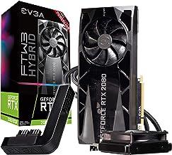 EVGA GeForce RTX 2080 Super Ftw3 Hybrid Gaming, 8GB GDDR6, RGB LED Logo, iCX2 Technology, Metal Backplate + PowerLink 08G-...