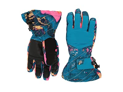 Spyder Kids Synthesis (Little Kids/Big Kids) (Glacier Print) Extreme Cold Weather Gloves
