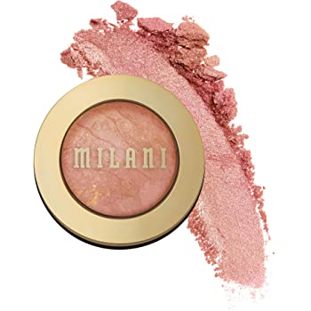 Milani Baked Blush - Berry Amore (0.12 Ounce) Cruelty-Free Powder Blush - Shape, Contour & Highlight Face for a Shimmery or Matte Finish