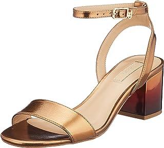 Liu Jo Thelma 01-Sandal Brass, Sandalias con Punta Abierta Mujer