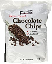 Kirkland Signature Semi-Sweet Chocolate Chips, 72 Ounce