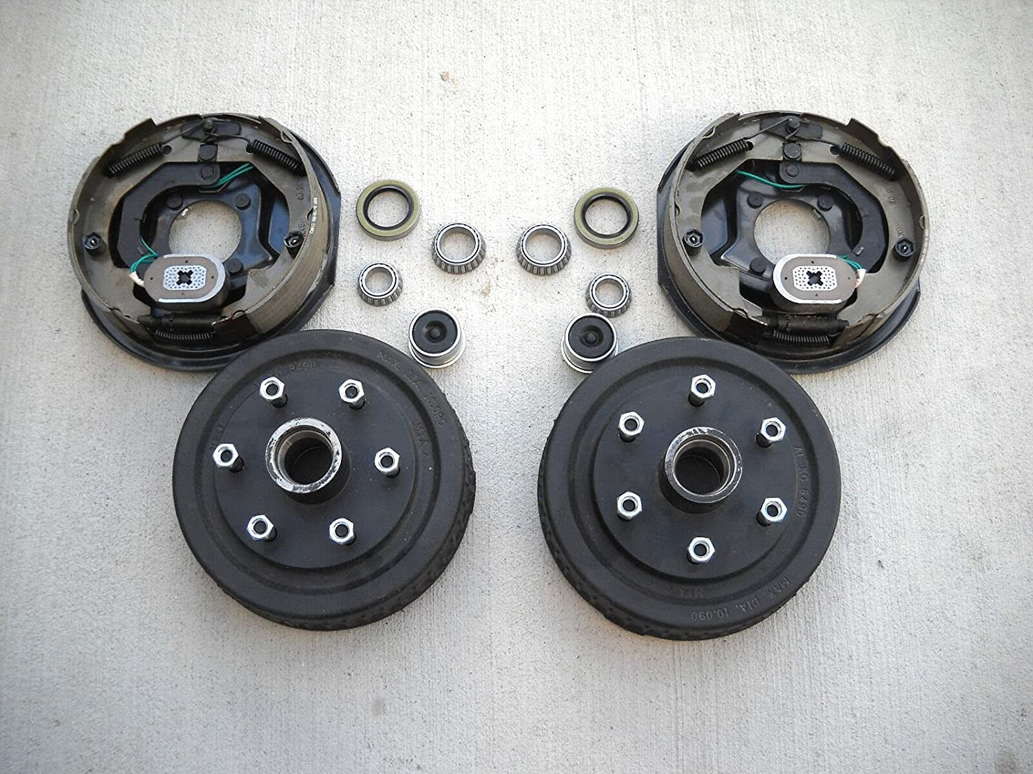 Add Brakes to Your Trailer Basic Kit Manufacturer direct delivery axle Bolt Challenge the lowest price Elec x 3500 6 5.5