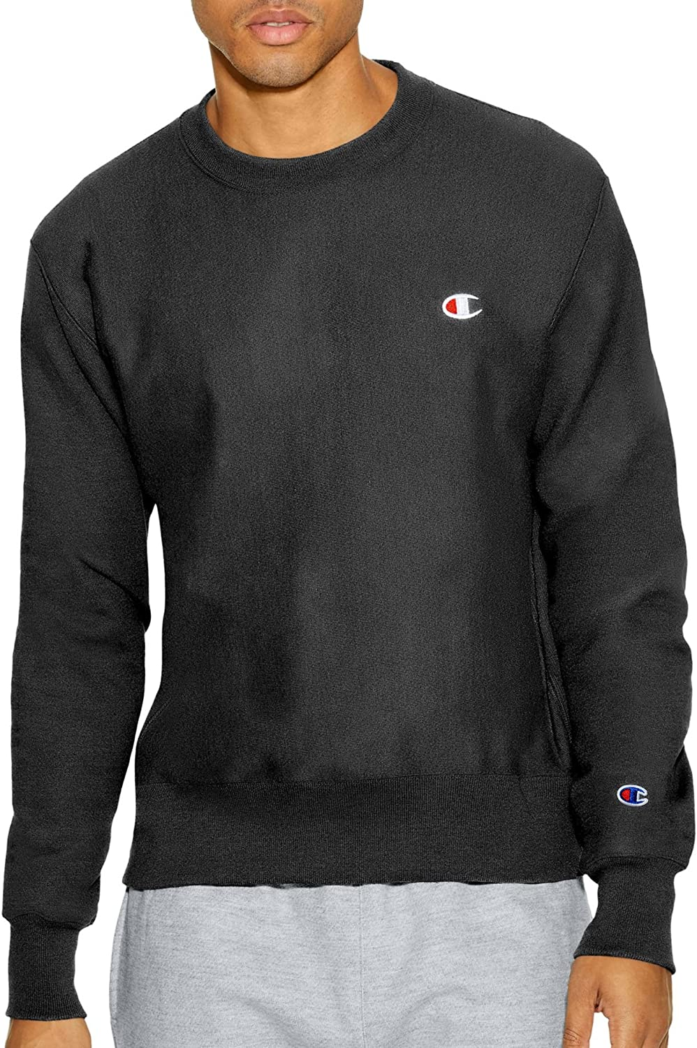 Same day shipping Champion Men's Reverse Weave Crew Clearance SALE! Limited time!