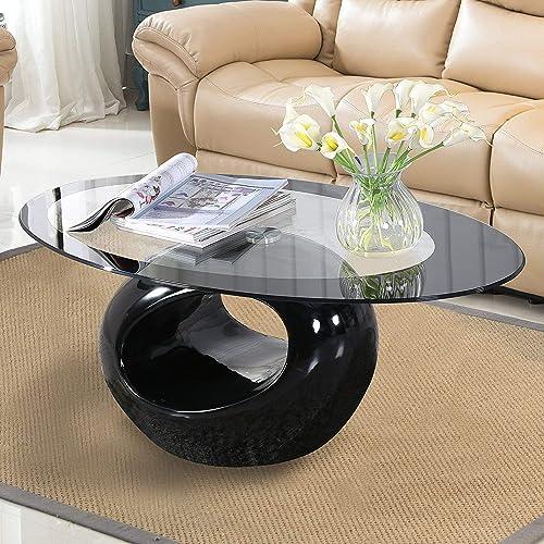 Modern Glass Coffee Tables Amazoncom