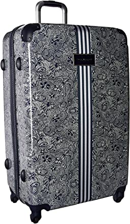 "TH-683 Pineapple Palm 29"" Upright Suitcase"