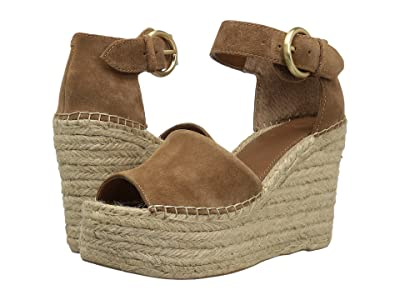 Marc Fisher LTD Alida Espadrille Wedge (Natural Suede) Women