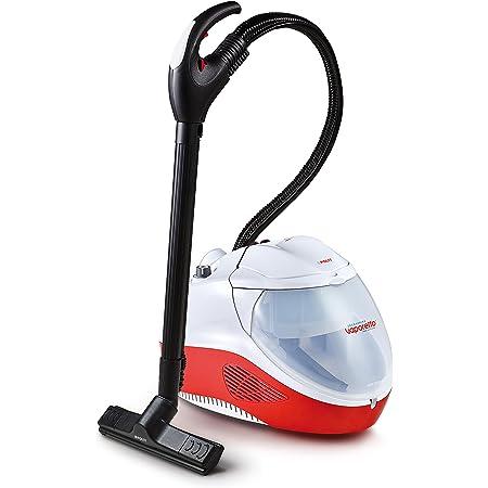 Polti Vaporetto Lecoaspira FAV50_Multifloor, nettoyeur vapeur et aspirateur avec filtre à eau, 5 bar, tue et élimine 99,99%* des virus, germes et bactéries
