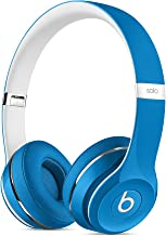 Beats Solo2 WIRED On-Ear Headphones Luxe Edition NOT WIRELESS - Blue (Renewed)