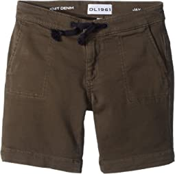 DL1961 Kids - Jax Utility Shorts in Wingman (Toddler/Little Kids)