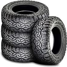 Set of 4 (FOUR) Kanati Trail Hog A/T-4 All-Terrain Tires - LT275/70R18 125/122Q E (10 Ply)
