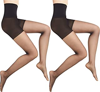 Warner's Women's Easy Smoothing Shaping Sheer Tights (2 Pack)