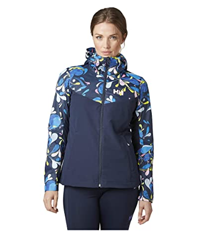 Helly Hansen Heta Jacket 2.0 (Sling Navy Print) Women