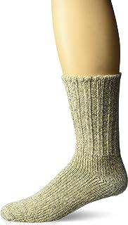 FoxRiver Norsk Ragg Wool Crew Socks, BROWN TWEED