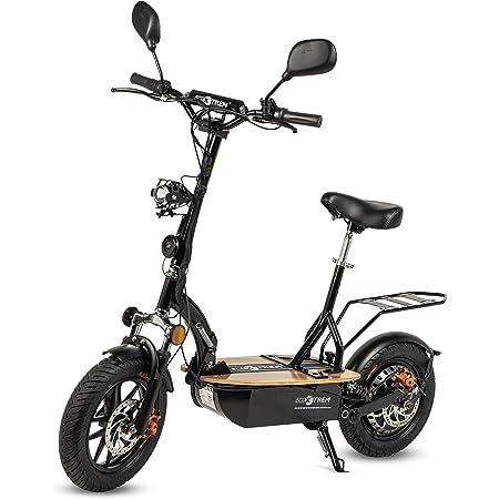 Renton - Patinete/Scooter eléctrico dos ruedas con sillín ...