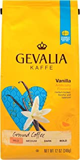 Gevalia Bold Dark Gold Roast Ground Coffee, Caffeinated, 12 Oz Bag