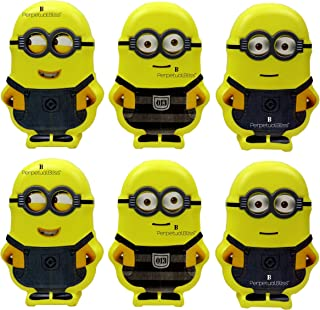 Perpetual Bliss Minions Shape Piggy Money BankBirthday Return Gift for Kids {Setof6}