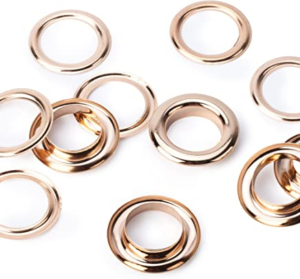 H438PR.8.G Gold//Brass Eyelet Refill Pack 8.7 mm 36 Sets with Eyelets /& Washers