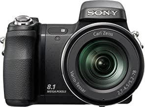 Sony Cybershot DSC-H9 8MP Digital Camera with 15x Optical Image Stabilization Zoom (Discontinued by Manufacturer)