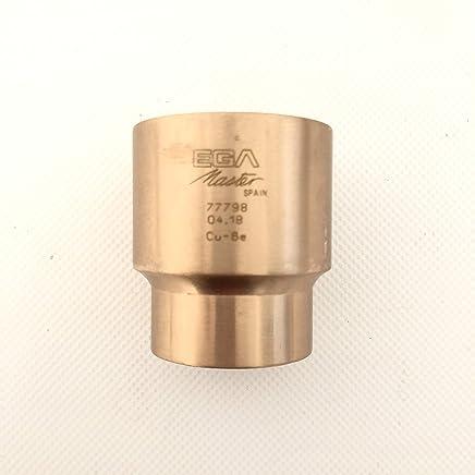 Llave vaso 1/2 27mm cobre berilio Egamaster Llaves de vaso Herramientas eléctricas y de mano