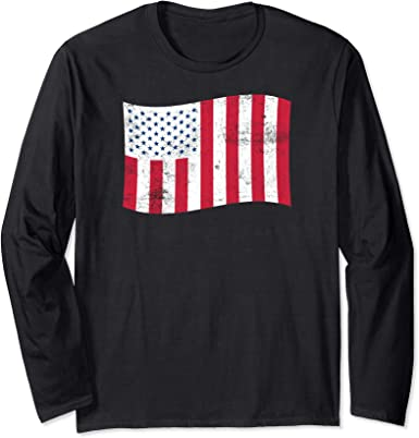 All Over Shirts USA Flag Stripes Sweatshirt