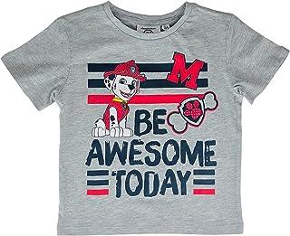 Camiseta de la Patrulla Canina de algodón de media manga estampada para niño 2827