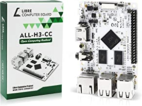 Libre Computer Board ALL-H3-CC H2+ 512MB (Tritium) Mini Computer with Upstream Free Open Source Software Support