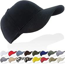Tinya Baseball Cap Men Women: Plain Sports Adjustable Solid Youth Dad Ball Hat