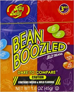 Jelly Belly BeanBoozled Jelly Beans 4th Edition NEW Flavors Stinky Socks 1.6 oz