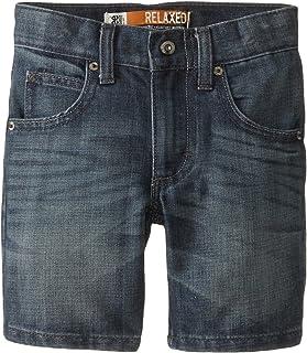 سروال قصير مريح من Lee Little Boys' Dungarees بخمسة جيوب