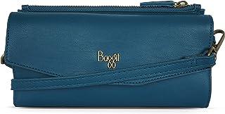 Baggit Autumn-Winter 2020 Faux Leather Women's 2 Fold Wallet (Green) (Kitsch)