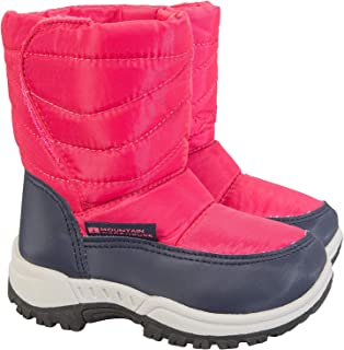 Mountain Warehouse Caribou Junior Snow Boots - Warm Winter Shoes