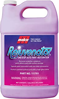 Malco Rejuvenator One Step Automotive Paint Restoration, Car Clear Coat Scratch and Swirl Remover,1 Gallon (111701)