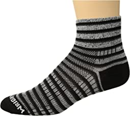 Wrightsock - Coolmesh II Quarter Stripes
