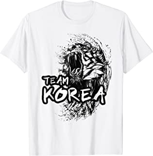 Team Korea Tiger T-Shirt