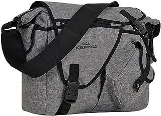 Umhängetasche Laptop/Tablet Jack Bag Tasche KEANU Messenger DIN A4 :: viele Einschubfächer und RV Fächer :: Auswahl (Grey ...