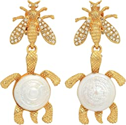 Oscar de la Renta - Critters Drop C Earrings