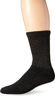 Dr. Scholl's Unisex 1 Pack Non-binding Diabetes and Circulatory Crew Socks Casual Sock