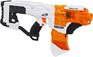 NERF Desolator Doomlands Toy Blaster with 10-Dart Clip and 10 Official Doomlands Elite Darts for Kids, Teens, and Adults
