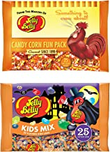 Jelly Belly Kids Mix & Candy Corn Set TWO Bags 7 Oz Gluten Free Jelly Beans Candy For Party Favors Or Halloween Candy!