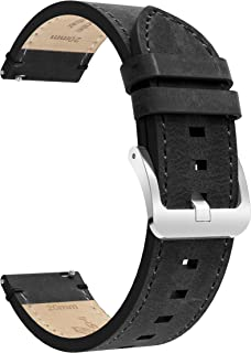 BaiHui Leather Watch Band with Quick Release Spring Bars - Top Leather Watch Band Compatible for Samsung Galaxy Watch,Choi...
