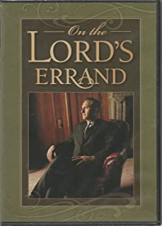 On the Lord's Errand - Thomas S. Monson DVD